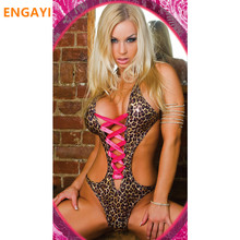 Buy ENGAYI Brand Faux Leather Latex Women Erotic Lingerie Sexy Underwear Lenceria Babydoll Nuisette Porn Sexy Costumes Langerie 3015