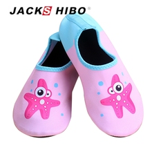 Buy JACKSHIBO New Summer Kids Slippers Swimming Aqua Shoes Beach Slippers Child Water Shoes Boys Upstram Shoes Indoor Slippers for $8.13 in AliExpress store