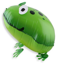 1 piece frog Walking Animal Balloons Jungle Party Birthday Decoration Kids Toy Children Funny Toy Balloons