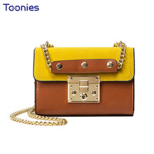 Small Covered Type Ladies Hand Bags Chain Woman Shoulder Bag 2017 New Vintage Women Leather Mseengers Bags Handbags Female