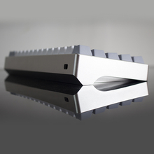 Mechanical keyboard shell anode aluminum shell gh60 poker 60 mechanical keyboard shell dz60 diy keyboard