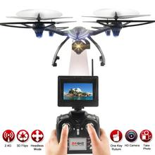 SYMA Quadcopter new high tech 2.4G 6-Axis Gyro 5.8G FPV RC Drone With 720P Camera HD video quadcopter with camera JAN5(China)