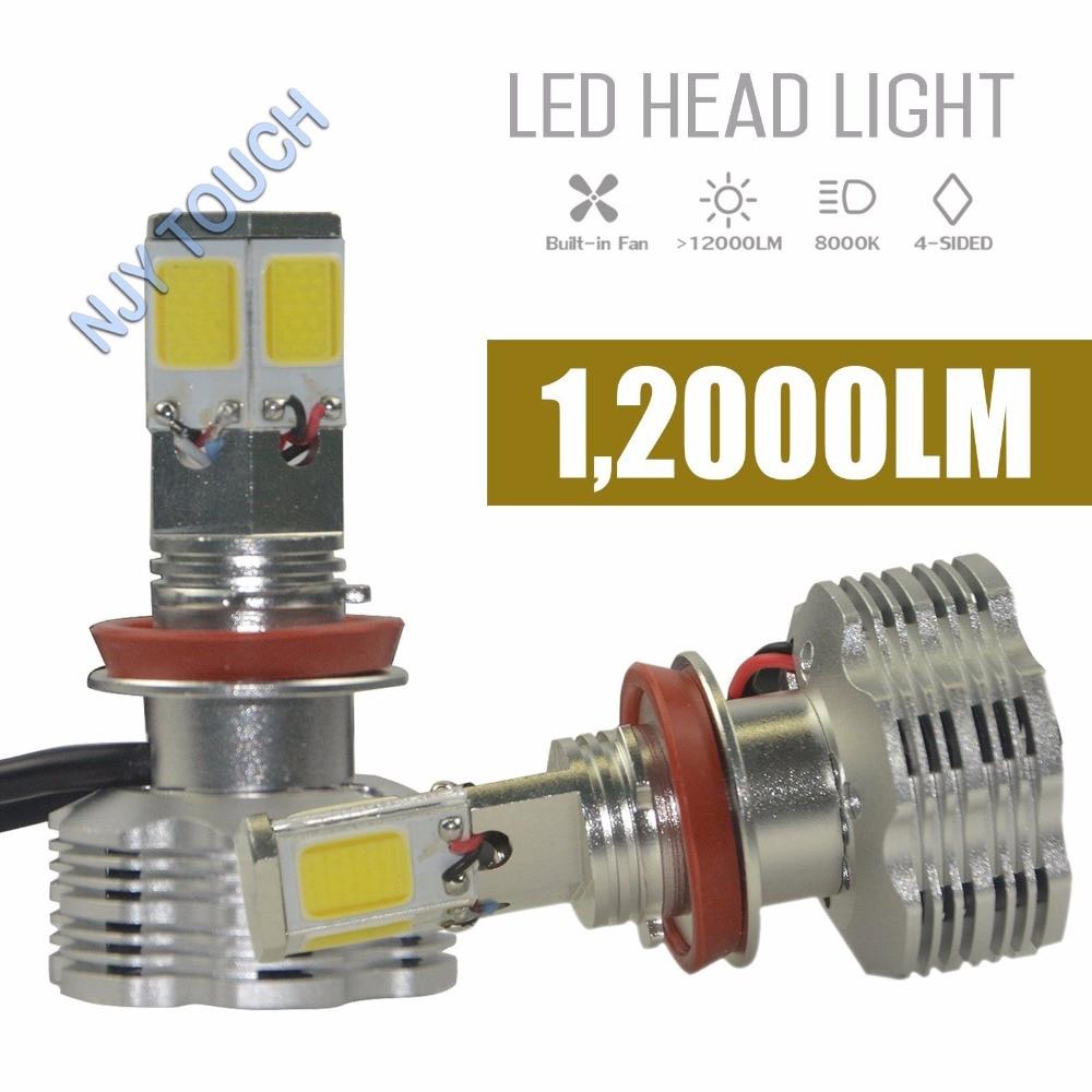 2pcs High Quality 110W 12000LM H8 H9 H11 H16 LED Auto Headlight Beam Bulbs Lamp 6000K<br><br>Aliexpress