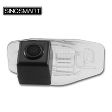 SINOSMART In Stock Car Parking Reverse Backup Camera for Honda Accord Crider Civic EVERUS S1 with Plastic Transparent Lamp Shade(China)
