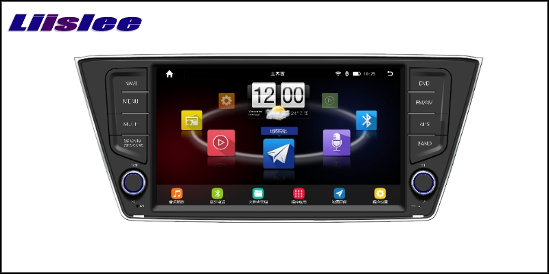 For Skoda Fabia Mk3 2014~2017 LiisLee Car Multimedia TV DVD GPS Audio Hi-Fi Radio Stereo Original Style Navigation NAVI 2