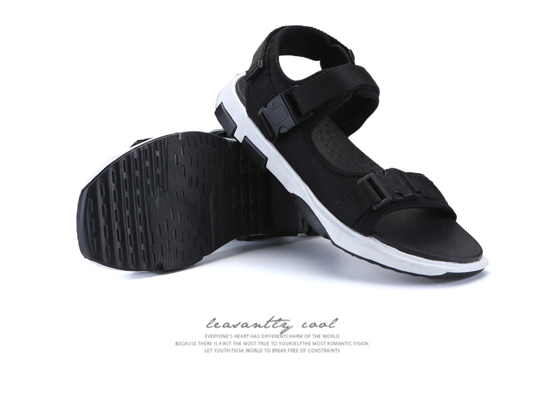 Summer Men Beach Sandals Fashion Breathable Walking Shoes Male Adult Comfortable Flat Sandals Outdoor Footwear Chaussures Homme 38 Online shopping Bangladesh