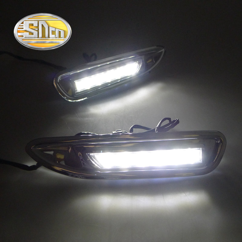 For Mazda 6 Mazda6 2008 2009 2010,With Chromed ABS Cover Car DRL Waterproof ABS DC 12V LED Daytime Running Light Daylight SNCN(China (Mainland))