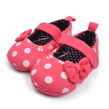 Baby red casual Shoe Baby girl shoe Infant Shoes free shipping(China)
