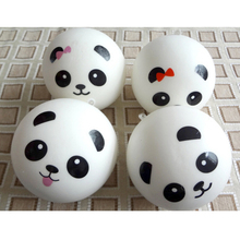 7cm Jumbo Panda Squishy Charms Kawaii Buns Bread Cell Phone Key/Bag Strap Pendant Squishes Lanyard Mobile Phone Strap