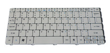 Brand New Genuine For Acer Aspire One D255 D255E D257 D260 D270 NSK-AS01D Series Netbook Keyboard US White(China)