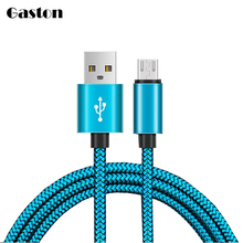 Nylon Micro USB Cable 2A Fast Charging and 8pin USB Data charger Cord Cables for iPhone 7 6 6s Plus 5s 5 Android Power Bank Line