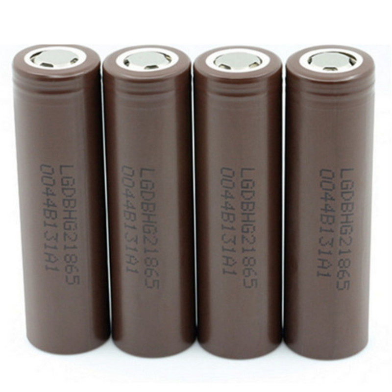 For LG 18650 HG2  Power Lithium Batteries 3000mAh Rechargeable High Drain Li-ion Battery Flat Top Vape