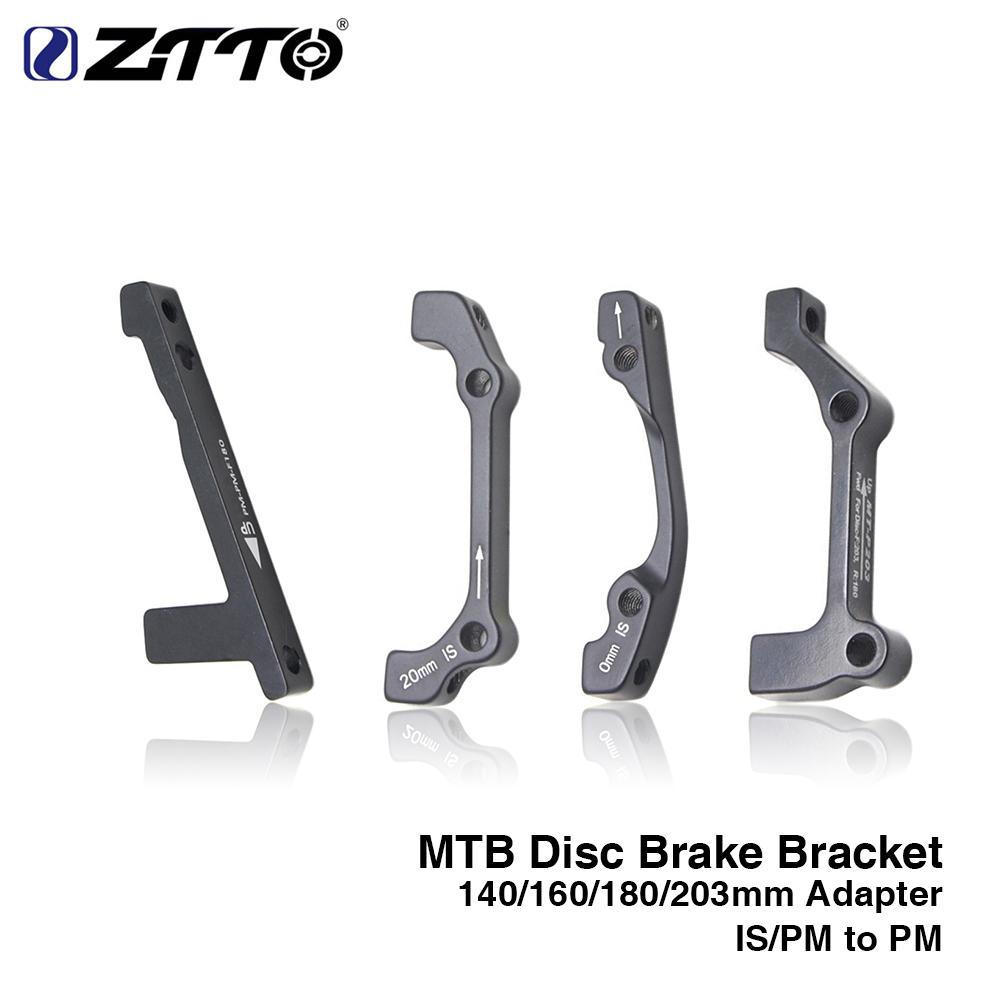 MTB Bike 160//180//203mm Rotor Disc Brake Rotor PM//IS 180//203mm Adapter Calipers