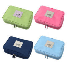 1 pc Makeup Clothes Hot Cube Waterproof Hanging Underwear Storage Bag Travel Packing Organizer Cosmetic Case