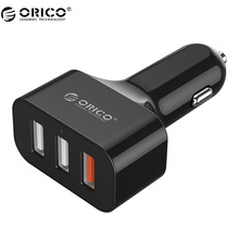 ORICO QC2.0 3 Port USB Car Charger for Smartphones and Tablets/iphone 7/6s/6 (UCH-2U1Q)
