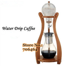 New Water/Ice drip coffee maker(best price & best quality) 1200cc with WOOD Ice coffee dripper factory directly sale MWD06(China)