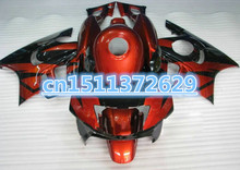 Bo Custom Fairing kit for CBR600F3 97 99 CBR 600 F3 1997 1998 cbr 600f3 97 98 Red black Fairings set(China)