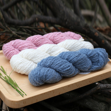 1 piece High Quality Handspun 100% Mongolian Cashmere Yarn in 39 colors  Mid Thick Yarn for Handknitting