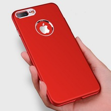 Luxury China Red Case For Iphone 6s Case Soft TPU Business Phone Back Cover For Iphone 7 6 6s Plus Full Ultra Thin Fundas