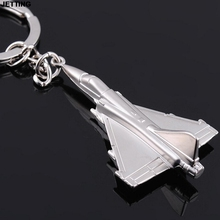 JETTING Airplane Keychain Aircraft Airplane Model Keyrings Key Chain Cool Boy Men's Gift 1 PC(China)