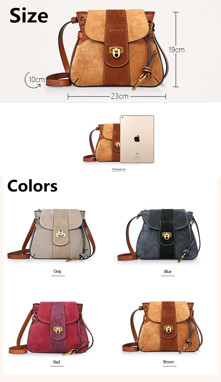 Luxury Handbag Women Designer Genuine Leather Bag Women Leather Handbags Channels Shoulder Messenger Bag handbag bolsos muje (5)