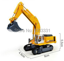 Free shipping high quality diecast engineering vehicle model kids toy cars crawler excavator 1:87 kaidiwei similar for siku