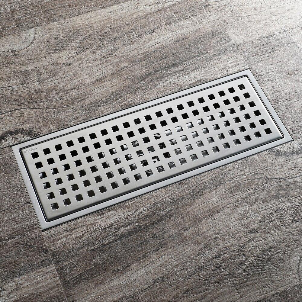 HIDEEP Stainless Steel Anti-odor Floor Drain Deodorization Type Rollover Kitchen Sink Strainer Drains Shower For Family Bathroom<br>