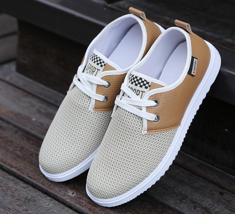 High quality mens shoes breathable mesh Male Casual shoes  Male low for casual shoes<br><br>Aliexpress