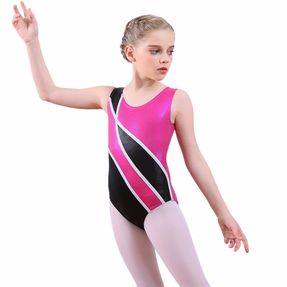 Girl Kids Classic Leotard Ballet Dance Gymnastics Skate Dance wear Bodysuit Tops