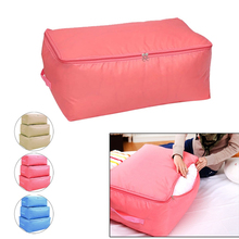 Quilt Bag Foldable Storage Bag Clothes Blanket Closet Sweater Organizer Box