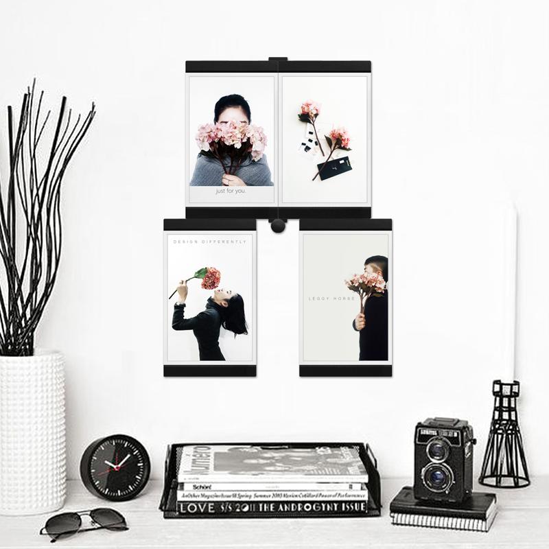 12sets-Leggy-Horse-Transparent-Acrylic-with-Flexible-Leather-Stackable-Photo-frames-Assemble-DIY-kit-Home-Decor