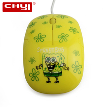 Wired Mouse Cartoon Design Optical Mouse 3D Mini Wired Computer Mause Mice 1600 DPI Gaming Mouse for PC Gamer Laptop Kids Gift(China)