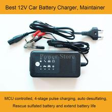 12V car battery charger, 12V motorcycle battery charger, 12V lead acid battery charger for 12V SLA, GEL, AGM, VRLA battery