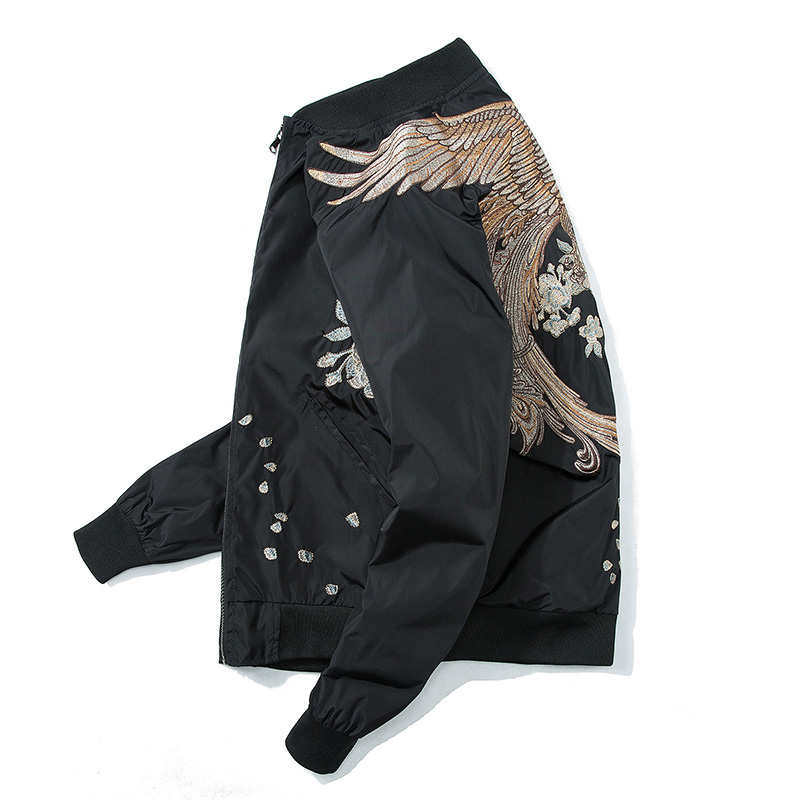 High Street Phoenix Embroidery Jacket US Size