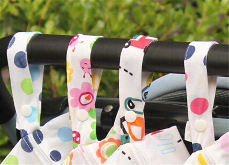 Pizies Baby Waterproof Zipper Bag Washable Reusable Baby Cloth Diaper Bag