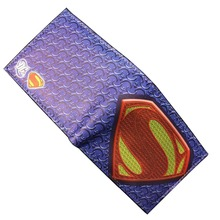 DC Marvel Comics Superman Wallets Anime Cartoon Famous Movie Super Hero Purse Leather Bags PU Leather Short Wallet