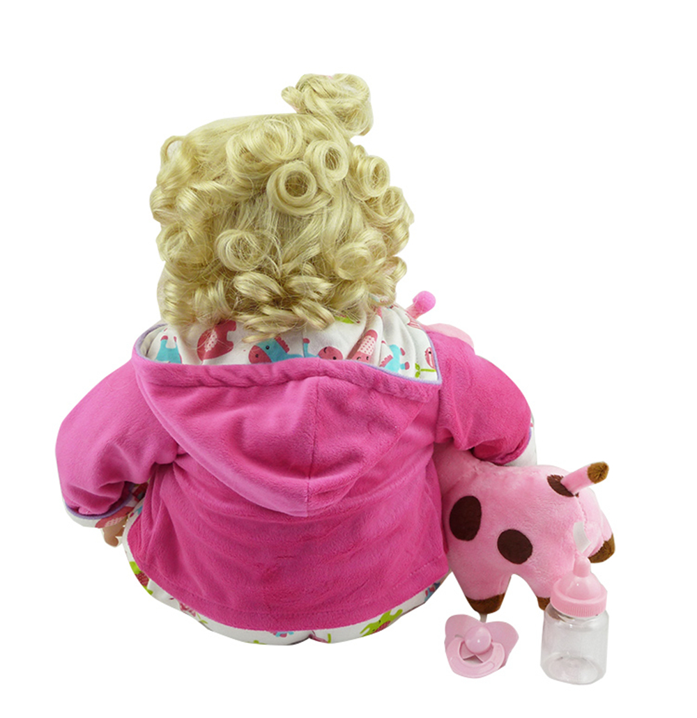New Silicone Vinyl Adora Lifelike 20 Toddler Baby Bonecas Girl Kid Doll Bebe Reborn Menina De Silicone Toys For Children (6)