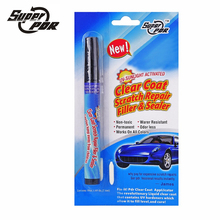Super PDR Magic Permanent Water Resistant Works on all colors Fix It Pro Clear Car Coat Scratch Cover Remove Repair Painting Pen(China)