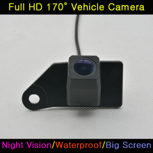 Car HD CCD 520 TV Night Vision Backup Rear View Rearview Reversing Camera Waterproof For Mitsubishi ASX 2011 2012 2013 2014 RVR(China)