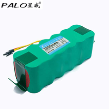 Palo 14.4V Ni-MH 3500mAh Vacuum Cleaner Robot Environmentally Rechargeable Battery Pack forDeebot Dibea X500 CR120 X580 saat(China)