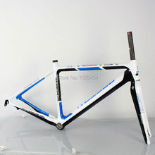 Buy Bicycle Carbon Road Frame Model:KQ-RB106R 700C Logos Finish fork included factory outlets for $528.00 in AliExpress store