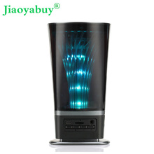 jiaoyabuy LED Light Portable Bluetooth speakers Wireless Bluetooth Outdoor stereo Speaker Higher Bass Handfree microphone FM AUX