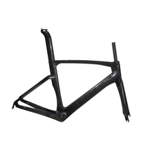 Hot sale carbon road TT bike frame, fork, seatpost,seat clamp and headsets Di2 compatible Carbon Time Trial Road Bicycle frame(China)