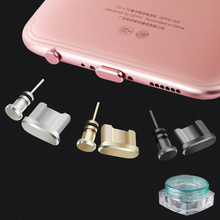 KMAX 3 in 1 Metal Alloy Earphone Jack Anti Dust Plug Ear Earphone for Android Samsung Xiaomi Telephone USB Plugs Headphone Plug(China)