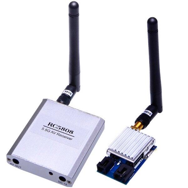 5.8G Video AV Audio Video Transmitter Receiver Sender Module FPV 2.0Km Range 18662<br>