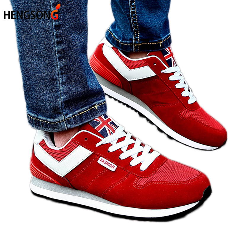 2017 New Men Casual Shoes Trend Walking Shoes Male Low Lace-Up Flats Breathable  Shoe Spring/Autumn Men Footwear 25-27.5cm<br><br>Aliexpress