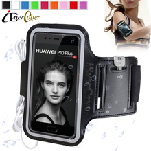 Sport Arm Band Jogging Case for Huawei Honor 8 6X 5C 5X Honor 7 Lite G8 GX8 P10 Plus / P9 Plus P9 Lite Waterproof PU Leather Bag