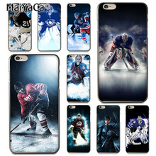 MaiYaCa Popular Hockey Sport Coque Shell Phone Case for Apple iPhone 8 7 6 6S Plus X 5 5S SE 5C Cover(China)