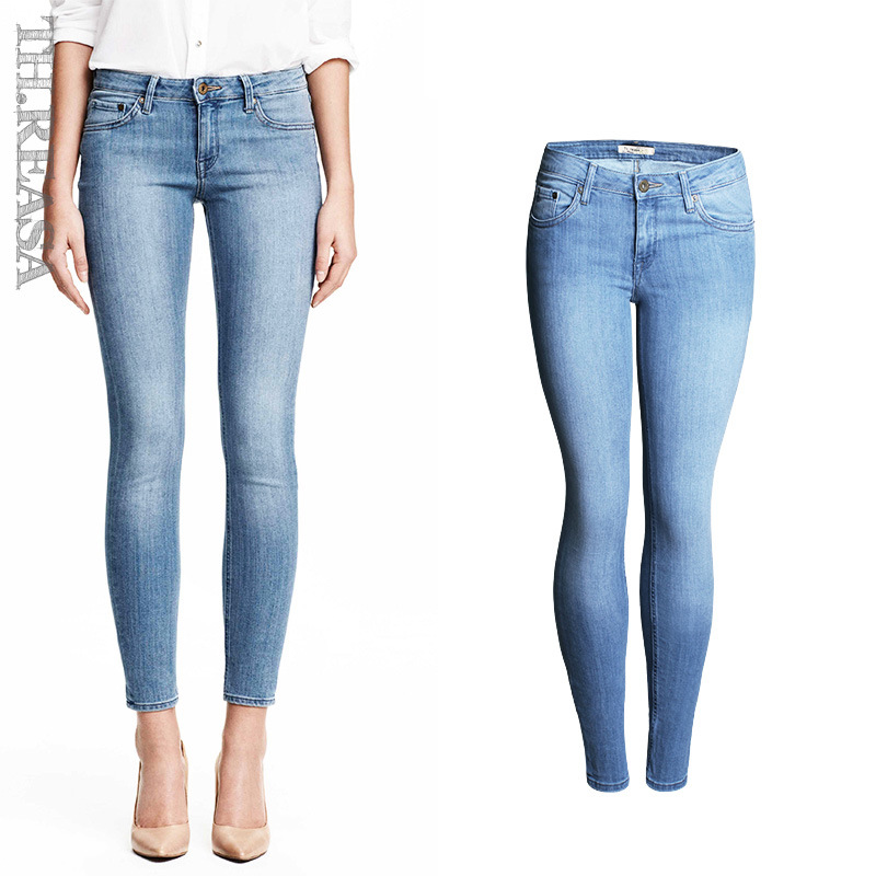 Hot Sexy Ripped Jeans for Women Jeans Woman High Waist Jean Pants Woman Fashion American Apparel Jeans Femme Slim Fitness PantОдежда и ак�е��уары<br><br><br>Aliexpress