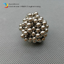 1 set Magic Cube NdFeB Magnet Balls 3-8mm diameter Nickle Color Neodymium Sphere Magnets Rare Earth Magnets Gift box available(China)